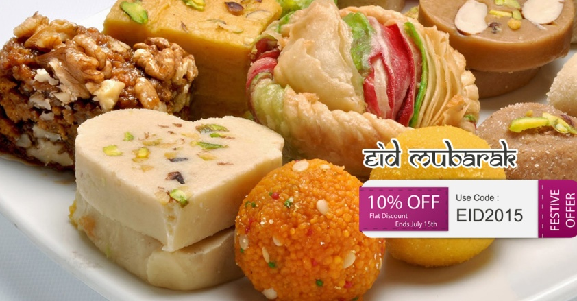 Offers on EID Al Fitr Sweets